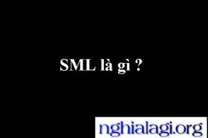 SML là gì? Sử dụng SML như thế nào?