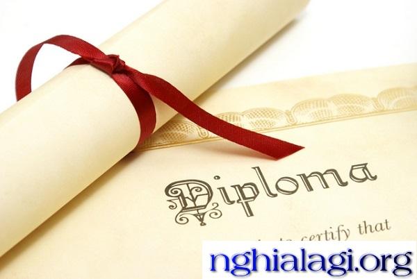 Diploma là gì? Có những loại Diploma nào phổ biến
