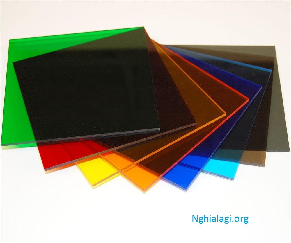 Acrylic là gì? Đặc điểm của chất liệu Acrylic - Nghialagi.org
