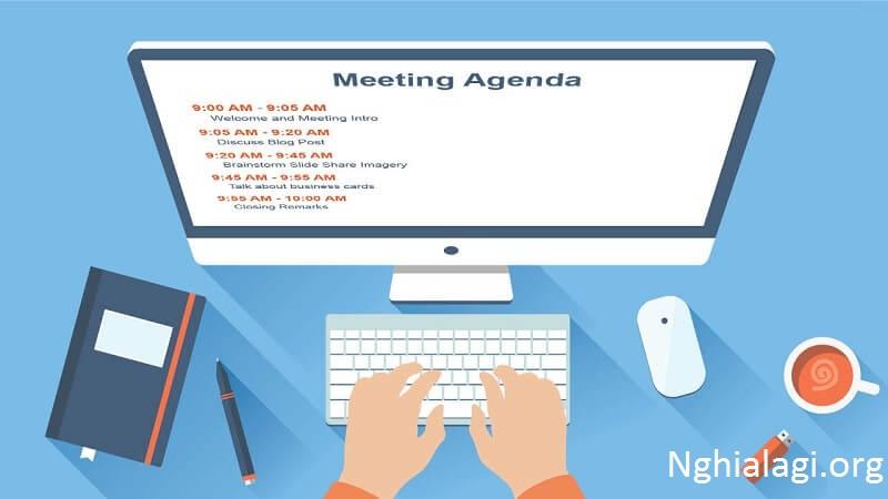 Agenda là gì? Bí quyết tạo ra một Agenda nhanh chóng và hoàn hảo. Agenda là gì ? - Nghialagi.org