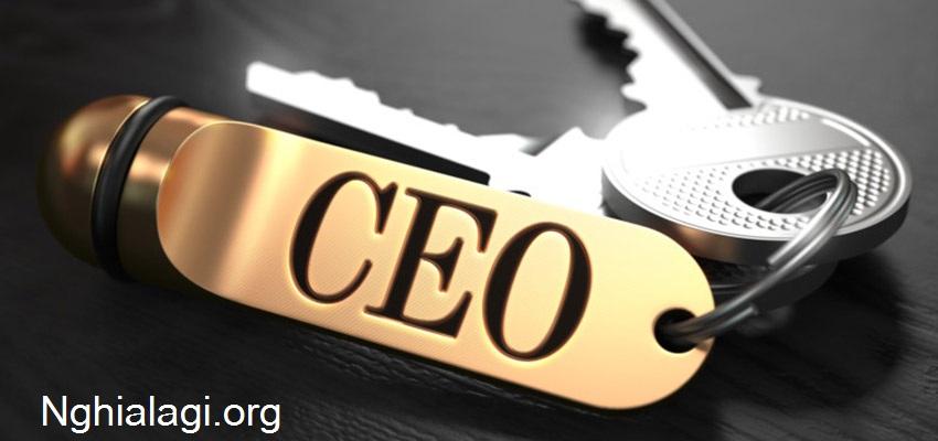 CEO là gì? CEO viết tắt của từ gì? - Nghialagi.org