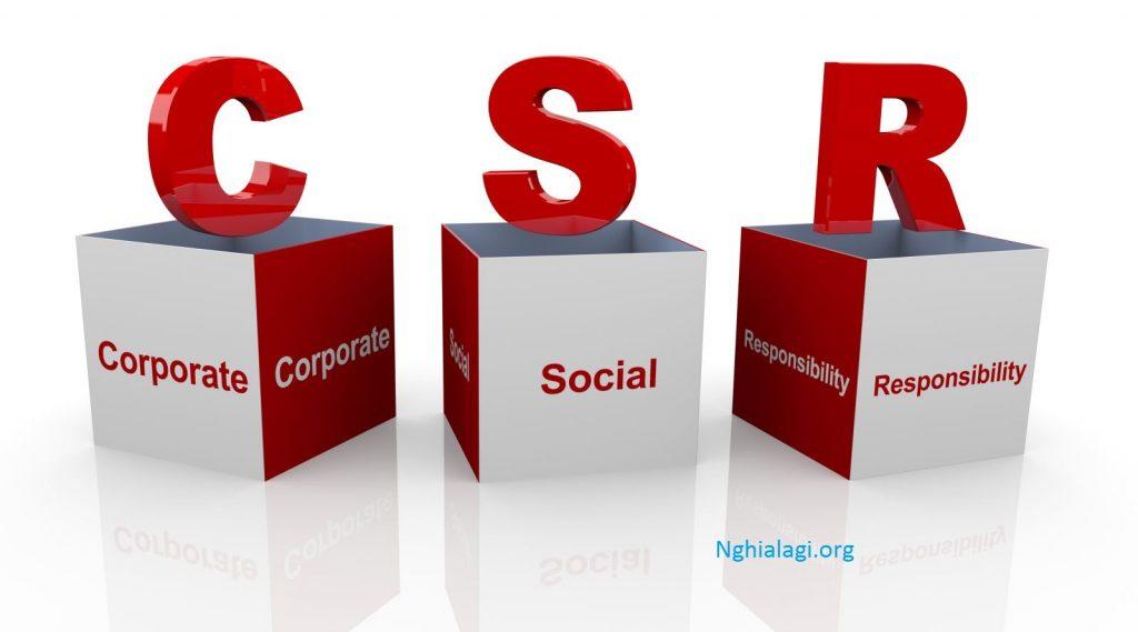CSR & phát triển kinh doanh bền vững - Nghialagi.org