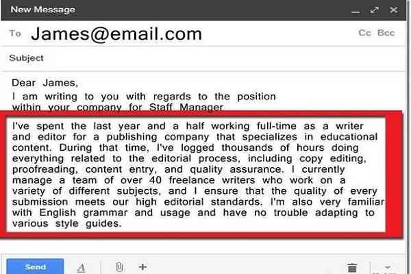 Nội dung chính của bức thư. - Nghialagi.org