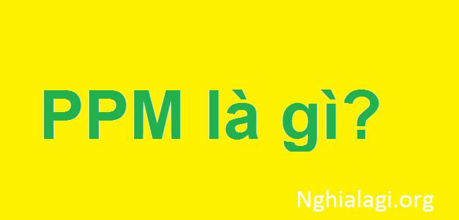 Ppm là gì? Ppm được sử dụng như thế nào? - Nghialagi.org