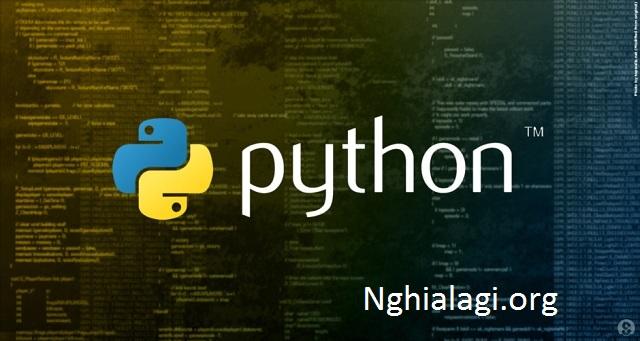 Python (ngôn ngữ lập trình) - Nghialagi.org