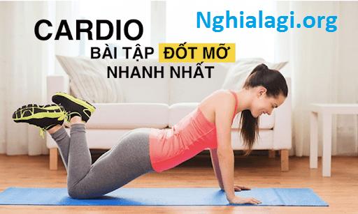Cardio là gì? Cách tập Cardio đúng và hiệu quả nhất cho Gymer - Nghialagi.org