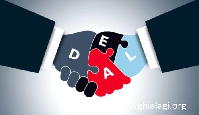 Deal là gì, Nghĩa của từ Deal - Nghialagi.org