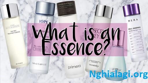 Essence là gì và vai trò trong chăm sóc da - Nghialagi.org
