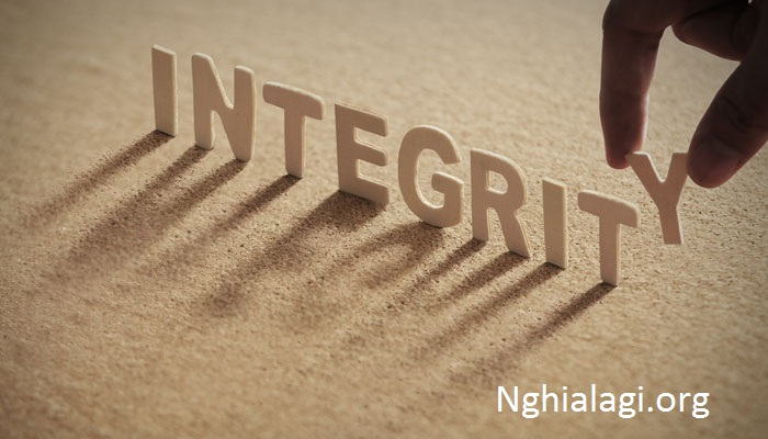 """""""Integrity"""" là gì? Định nghĩa của """"integrity"""" trong từ điển? - Nghialagi.org"""