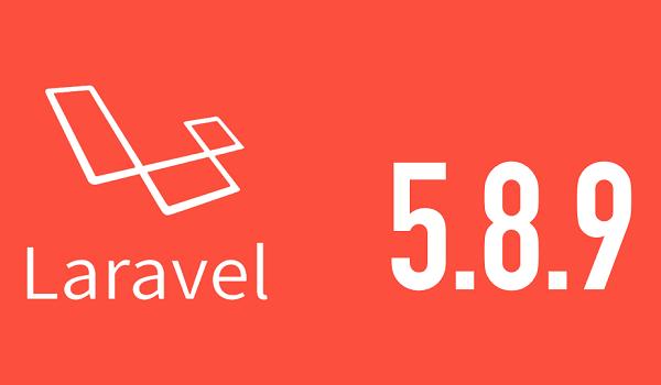 Laravel là framework được phát triển đến phiên bản 5.8 với nhiều cải tiến