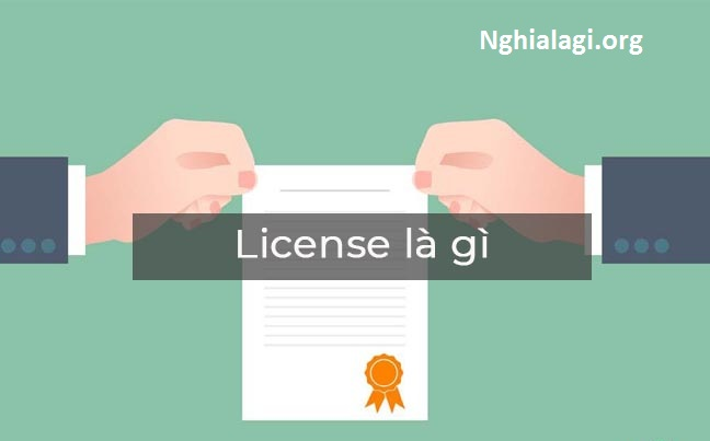 License là gì? Ý nghĩa và phân loại license trong máy tính - Nghialagi.org