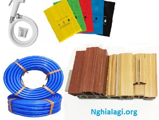 Nhựa pvc là gì? Ứng dụng của tấm nhựa PVC - Nghialagi.org