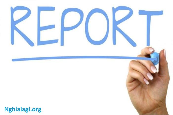 Nghĩa của từ Report - Từ điển Anh - Việt - Nghialagi.org
