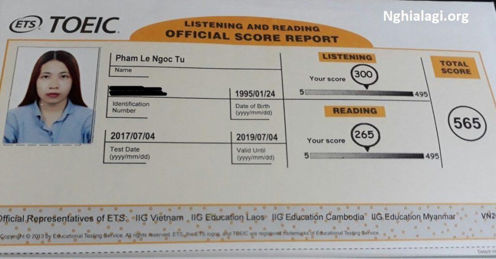 TOEIC là gì? Tại sao lại phải học và thi TOEIC? - Nghialagi.org