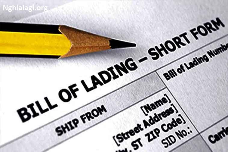 B/L (Bill of Lading) là gì? | Phân loại và vai trò của vận đơn đường biển - Nghialagi.org
