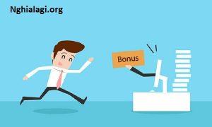 Bonus là gì? Những điều cần biết về loại tiền thưởng Bonus - Nghialagi.org