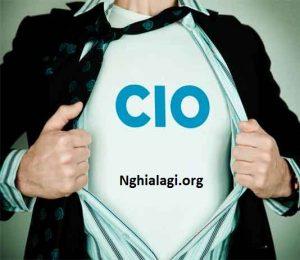 CIO là gì? Chức năng của CIO đối với một công ty - Nghialagi.org
