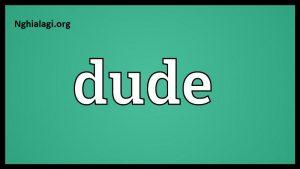 Dude là gì? Bạn đã khám phá hết những điều thú vị về thuật ngữ Dude hay chưa? - Nghialagi.org