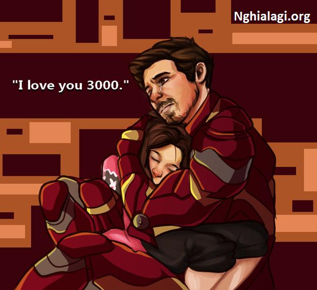 I LOVE YOU 3000 là thông điệp mà Iron Man muốn gửi tới những người mà anh ấy yêu thương - Nghialagi.org