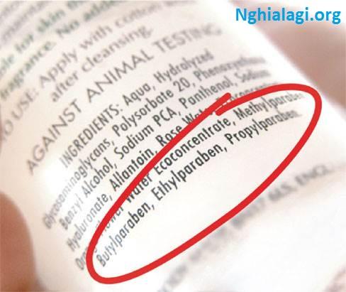 Paraben là gì? Những ý nghĩa của Paraben - Nghialagi.org
