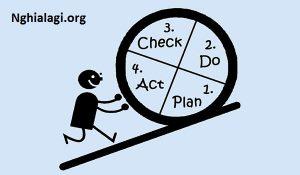 Mô hình PDCA là gì? Quy trình kiểm soát chất lượng đơn giản nhất - Nghialagi.org