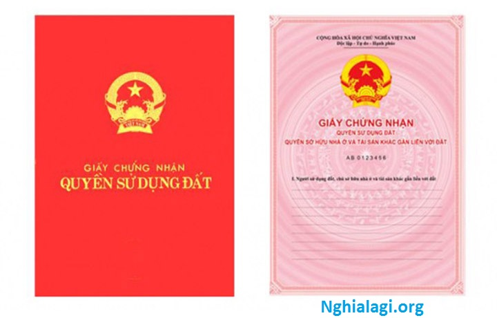 Sổ hồng là gì? 4 điều cần biết về Sổ hồng - Nghialagi.org
