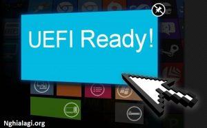Khái niệm về chuẩn UEFI trong máy tính - Nghialagi.org