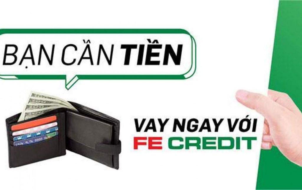 Các hình thức vay tiền mặt trả góp FE Credit lãi suất thấp