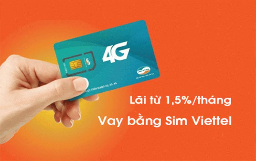 Vay tiền theo SIM điện thoại, Có SIM là vay được