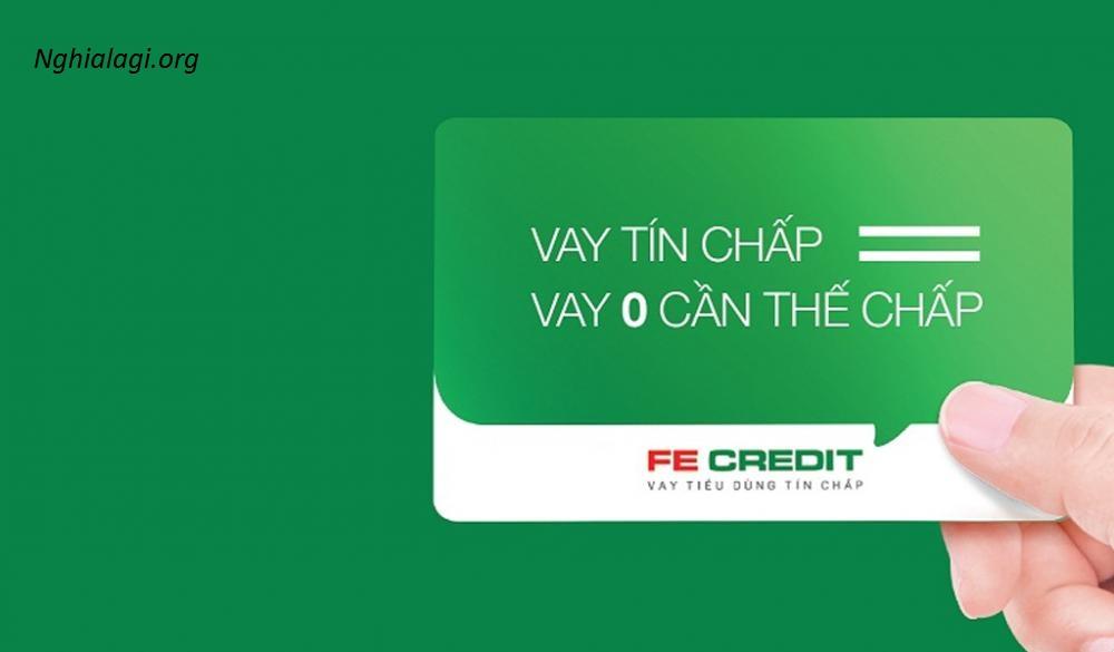Cách tính lãi suất vay tín chấp Fe Credit mới nhất