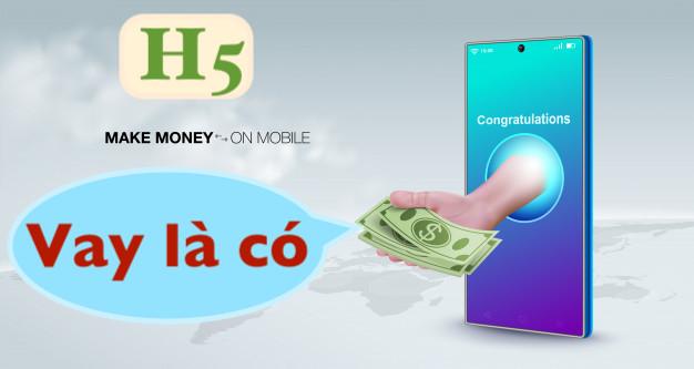 H5 Vay Liền Vay tiền online không phải nhìn lãi suất