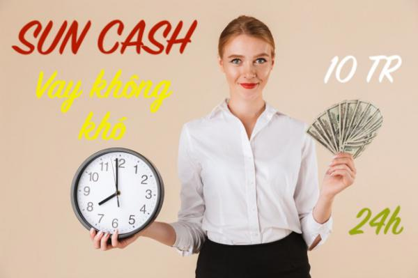 Vay tiền Sun Cash trực tuyến tại đây - An toàn uy tín
