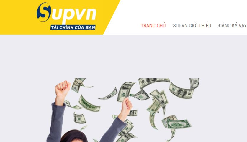 Supvn và đăng ký vay tiền online Supvn?