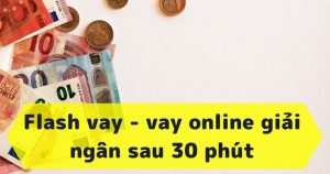 FlashVay dịch vụ hỗ trợ cho vay tiền trên apk ios