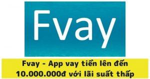 Tải app FVAY ios apk vay được siêu nhanh trong vài phút