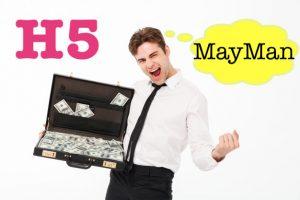 H5 May Man (h5.mayman-app) vay tiền có trong ngày